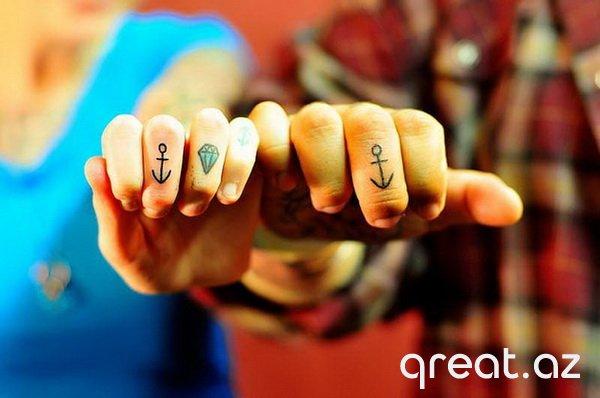 Tatuajlı sevgililər (74 Foto)