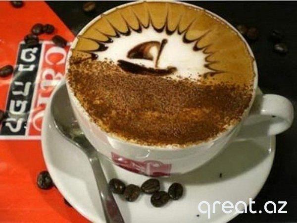 Kofe və kappuçino-da qaymaqla Şəkillər (45 Foto)