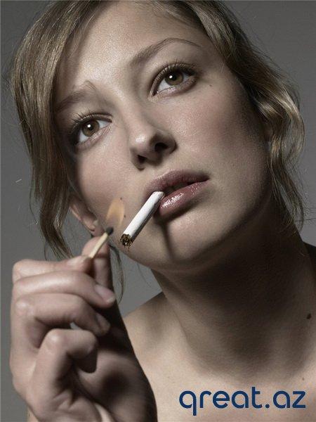 Sigaret çəkən gözəl qizlar (38 Foto)