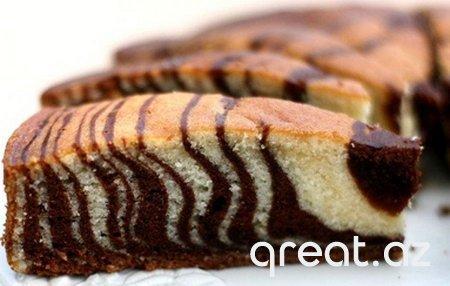 Zebra tortu (foto resept)