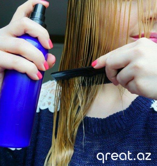 Dolaşıq saçlar üçün qurtuluş: ev şəraitində asanlıqla hazıraya bilərsiniz.