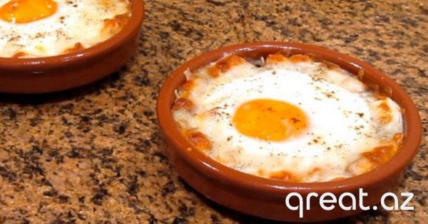 Napoleon sayaqi yumurta - məşhur resept! Çox zərif yemək.