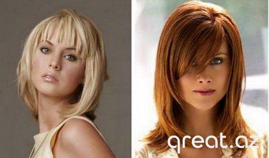 Saç düzümləri 30 yaş üçün, orta yaş üçün qadın saç fasonları