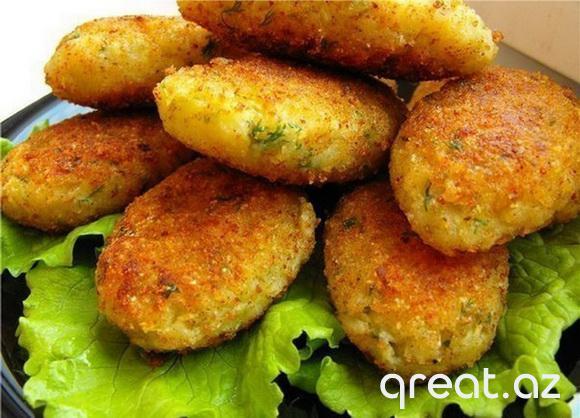 Kartof kotletlərinin resepti