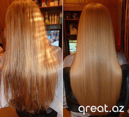 Ev şəraitində saçların laminasiya olunması
