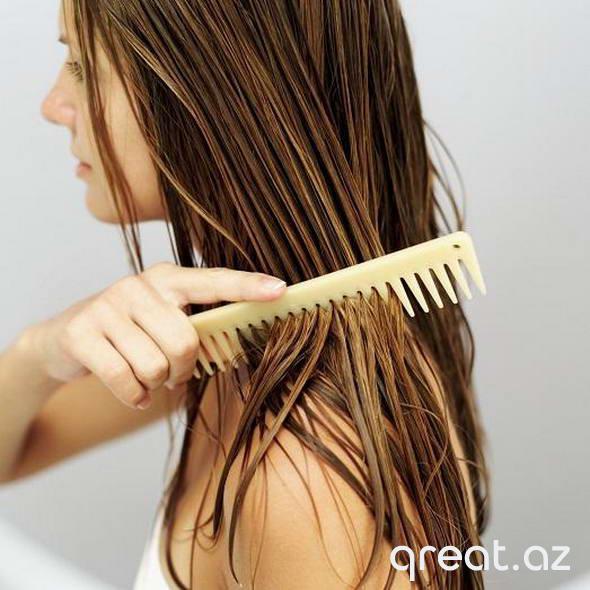 Saçların yağlanmasının qarşısının alınması üçün məsləhətlər