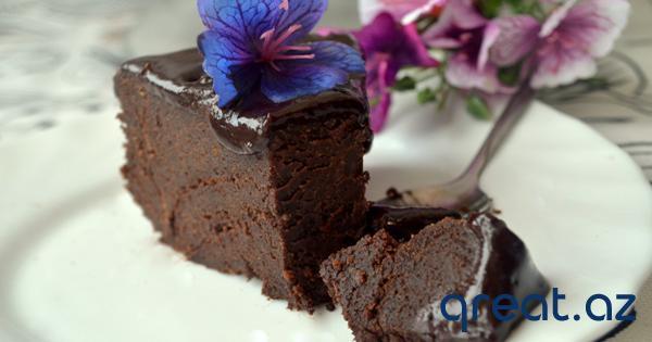 Sulu şokolad piroqu resepti