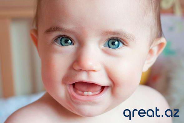 Uşaqda birinci diş — əlamətlər