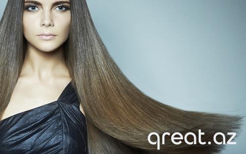 Saçların ev laminasiya olunması