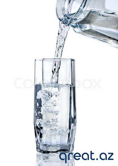 Arıqlama üçün gündə nə qədər su içmək lazımdır
