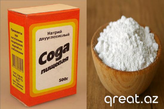 Soda nəyi mualicə edə bilər