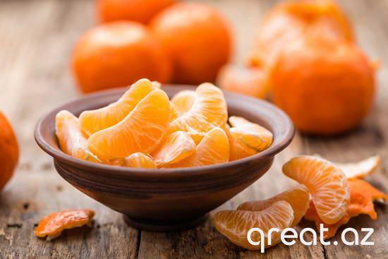 Mandarinlər nə qədər faydalıdır?