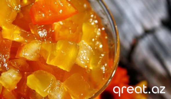 Yunan qabaqlarından, apelsindən və limondan mürəbbə reseptləri
