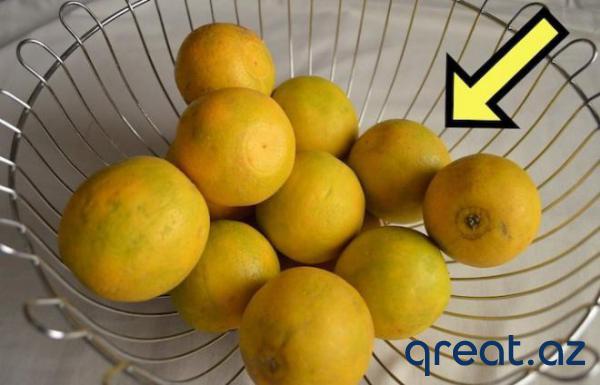 Necə limonları seçmək düzgündür