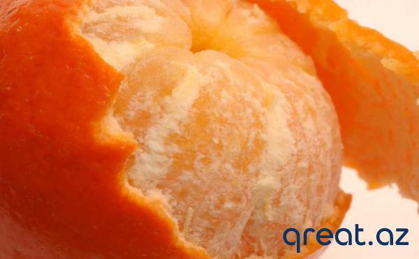 Ev kosmetikasında  mandarin qabığından istifadə etmək ü ...